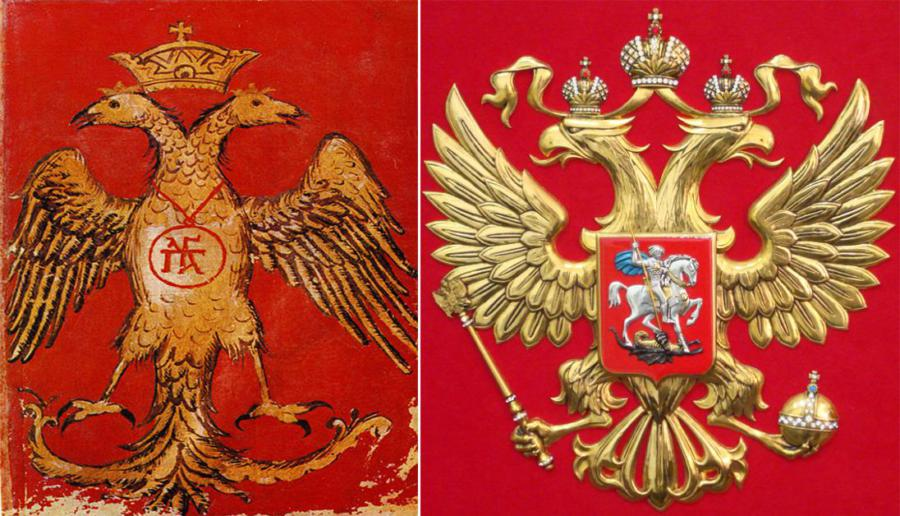 Символы Третьего Рима в центре Киева