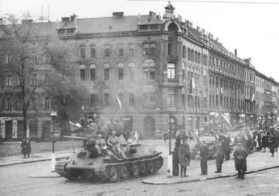 Прагу освобождали