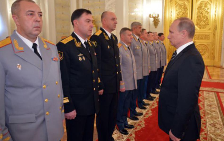 Hərbçilər Putini devirə bilər